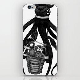 Dashing Entrepreneurs and Flying Squid iPhone Skin