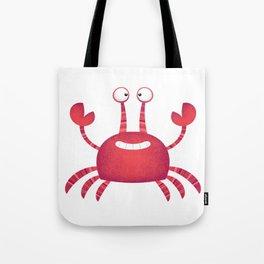 Funny Red Crab Tote Bag