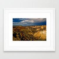 utah Framed Art Prints featuring Utah  by MillennialBrake