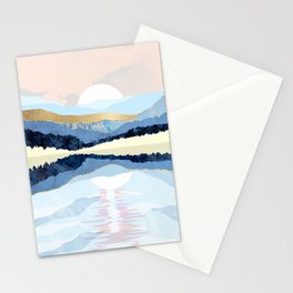 Winter Reflection Stationery Cards