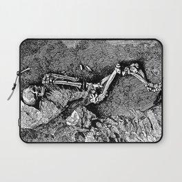 Remains of Prehistoric Man Laptop Sleeve