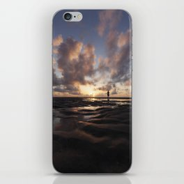 Watching the Sun Rise iPhone Skin