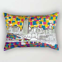 BRISBANE POSTCARD SERIES 019 Rectangular Pillow