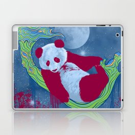 Goodnight, Panda - Colorful Starlight Night Sky Laptop & iPad Skin
