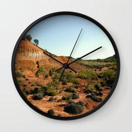 Lark Quarry - Outback Australia Wall Clock