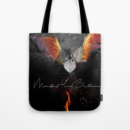 Manifest Your Brilliance Tote Bag
