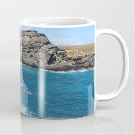 Green Beach and Turquoise Ocean Coffee Mug