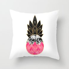Precious Pineapple 2 Throw Pillow