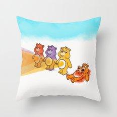Care Bear Ahhhhh Throw Pillow