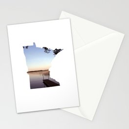 Lake Minnesota Stationery Cards