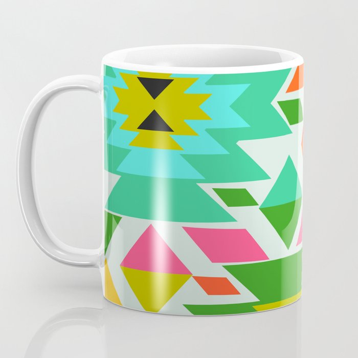 Ethnic with a tropical summer vibe Coffee Mug