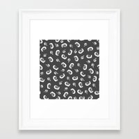 tape Framed Art Prints featuring Tape  by icantdance