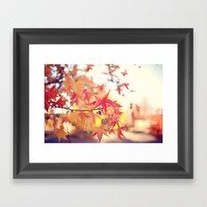 Forever Fall  Framed Art Print