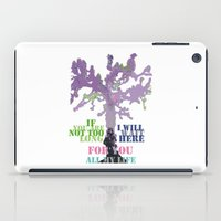 oscar wilde iPad Cases featuring Oscar Wilde #3 I will wait here by bravo la fourmi