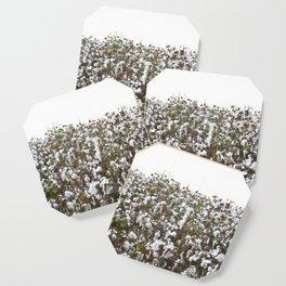 Cotton Field #minimalism Coaster