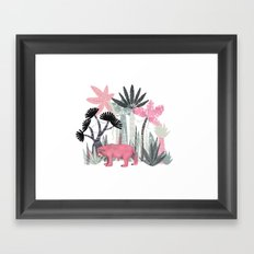 Mini Jungle  Framed Art Print