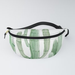 Three Amigos White + Green by Nature Magick Fanny Pack
