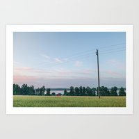 finland Art Prints featuring Finland by Johannes Valkama