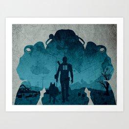 Lone Survivor Art Print