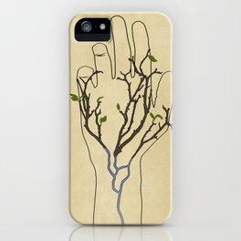 Handtree iPhone Case