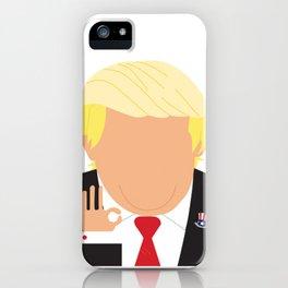 Faceless Trump iPhone Case