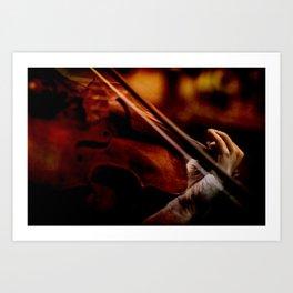 Lacrimosa Violinist Art Print