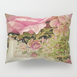 Teacups and Roses 2 Pillow Sham