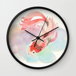 Koi Koi Koi  Wall Clock