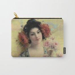 Vintage Geisha Carry-All Pouch