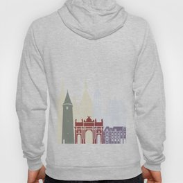 Nancy skyline poster Hoody