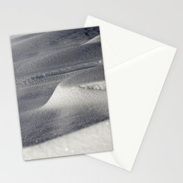 Deep snow drifts Stationery Cards