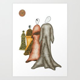 Which Way Will You Go? Art Print