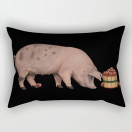 Sow & Apples Rectangular Pillow