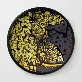 (I Want To Live On An) Abstract Plain Wall Clock
