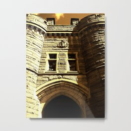 Armory Castle Metal Print