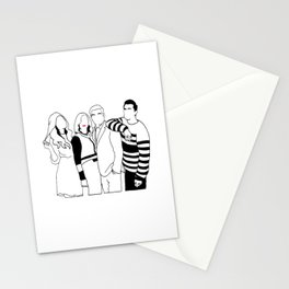 schitts creek Stationery Cards
