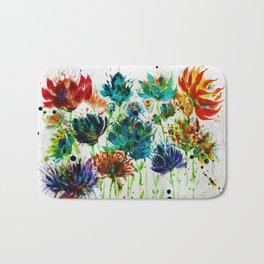 Wildflower Bunch Bath Mat