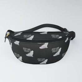 Just A Girl Who Loves Wolves Fanny Pack