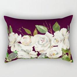 Flowers bouquet 83 Rectangular Pillow