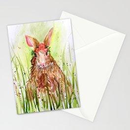 Rosie Rabbit Stationery Cards