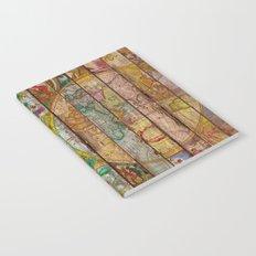 Around the World in Thirteen Maps Notebook