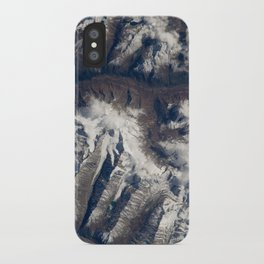 HIMALAYAS from International Space Station iPhone Case