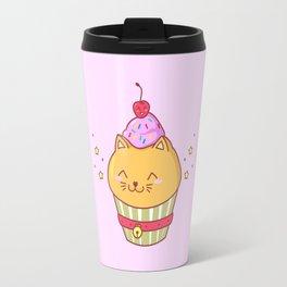 Cat Cake Travel Mug