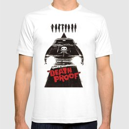 Death Proof Movie Poster Written And Directed By Quentin Tarantino Spanish Version Artwork, Posters, T-shirt