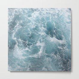 White water waves Metal Print