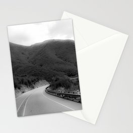 HAZY BENDS Stationery Cards