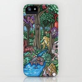 Creatures at Nite iPhone Case