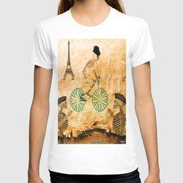 """Monsieur Bone and """" le  Tour de France """" T-shirt"""