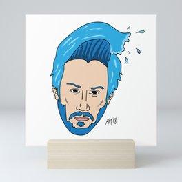 Keanu Waves Mini Art Print