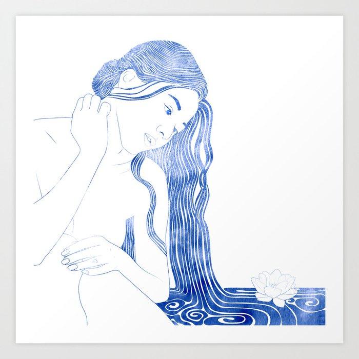 Nereid V Art Print